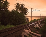 Railtracks in Kollam