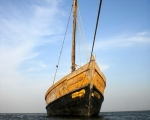 Anchored Boat Tuticorin