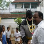 Batman in School