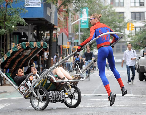 Rickshaw Spiderman