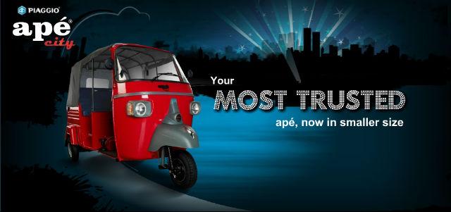 Piaggio Ape Autorickshaw Rickshaw Challenge