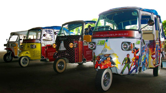 Iconic Rickshaws For Relief