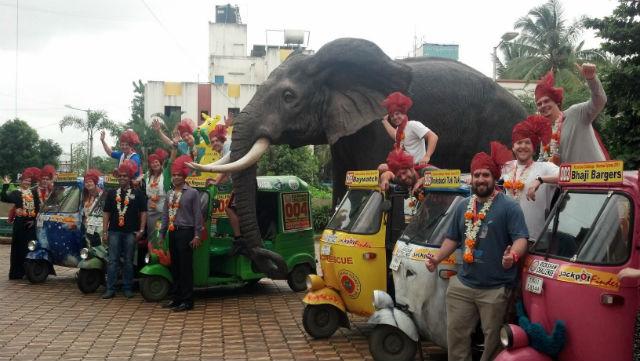 India on three wheels