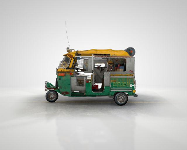 Auto Rickshaw Zombie