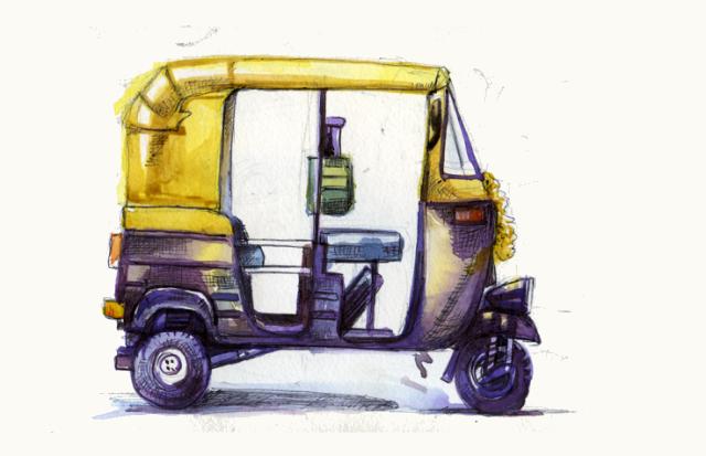 Chennai Express How to Draw an Auto Ri...