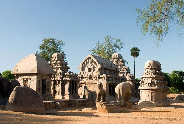 The Cave Temples of Mahabalipuram