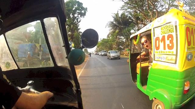 Across India in a Tuk Tuk