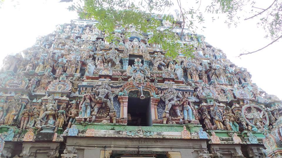 The Kumbeshwara Temple in Kumbakonam.