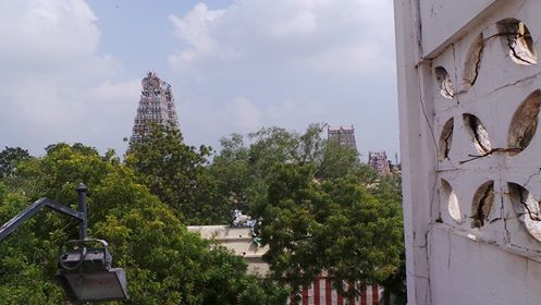 Madurai from above.