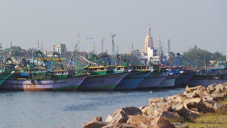 Tuticorin harbour