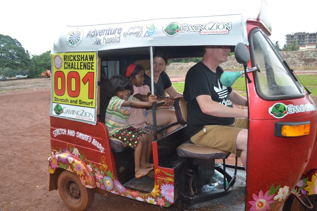 The First Two Days of the Rickshaw Challenge – Deccan Odyssey 2016