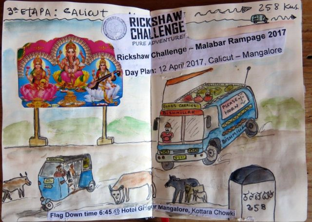 The Incredible Rickshaw Challenge Travel Journal